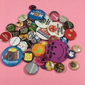 Pins/Flair/Buttons Jewelry Assorted Lot